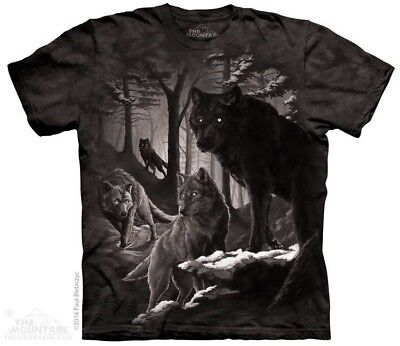 Dire Winter T-Shirt by The Mountain. Wild Wolf Wolves Zoo Animals Sizes S-5X NEW (Wild Animal T-shirts)