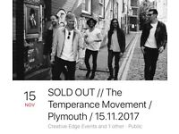 The Temperance Movement Ticket