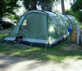 Outwell Montana 6 Tent with Front Awning & Kampa Carbis 5 family tent | in Hull East Yorkshire | Gumtree