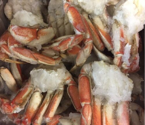 (5 lbs) Dungeness Crab Clusters- [FROZEN]