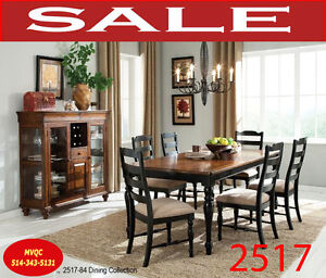 kitchen & dinette sets, armchairs, bench, tables, buffets, 2517