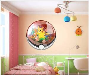 [Brand New]Pokemon 3D removable wall sticker Marsfield Ryde Area Preview