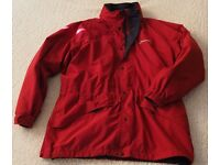 Berghaus Gore-Tex Jacket with fleece liner. Red. Size XL