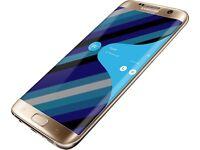Samsung Galaxy S7 edge in gold 32gb