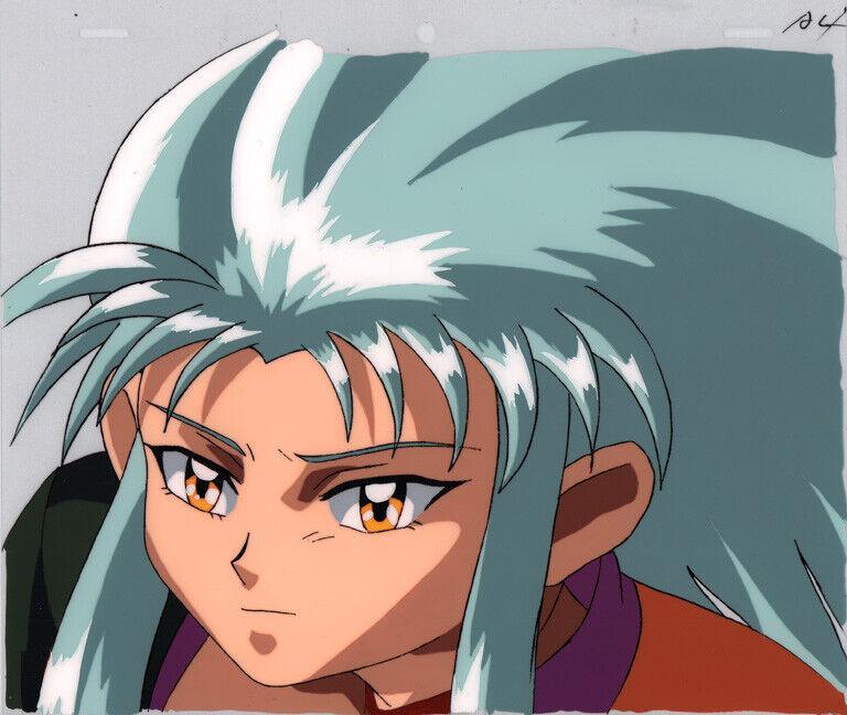 Tenchi Muyo Anime Production Cel Animation Art Ryoko Face-Up OVA Series