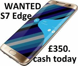 Samsung S7 Edge can pay 350 cash today and collect must have proof of ownership
