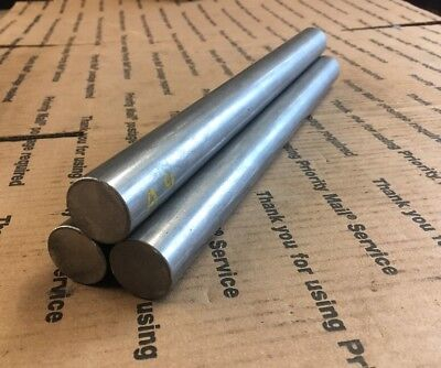 1 Steel Round Stock Lathe Machining Shaft Blacksmith 1045 12 Long 3 Pcs Bars