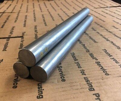 1 Steel Round Stock Lathe Machining Shaft Blacksmith 1045 12 Long 3 Pcs Bars