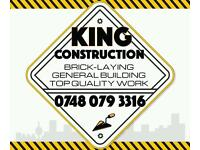 Bricklayer/general Builder .