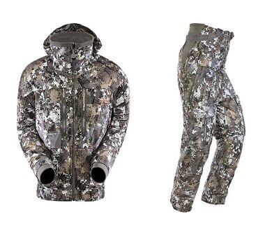 NEW Sitka Gear Incinerator Jacket & Bibs Optifade Elevated II Size 3XL