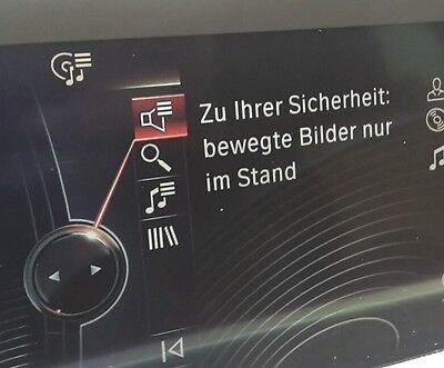 BMW DVD USB Freischaltung Diagnose Video in Motion F30 F31 3er TV Free NBT CIC Motion Usb