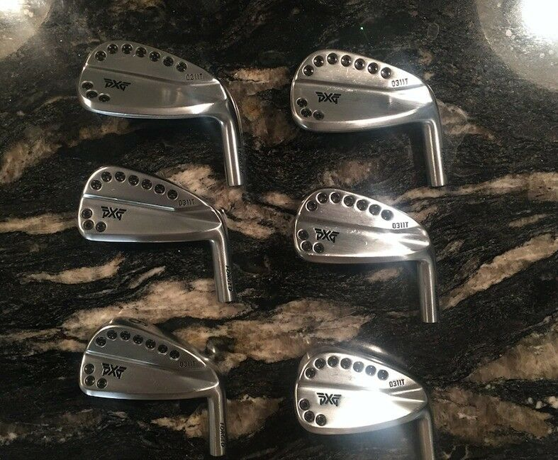 PXG- 0311t - TOUR MODEL 5-PW Golf Heads - MINT