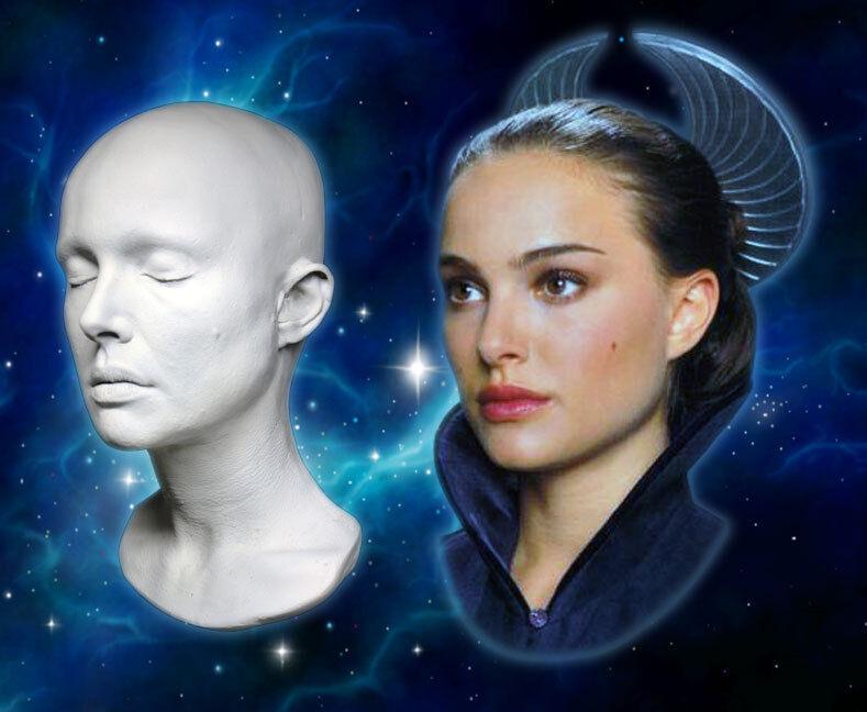 Natalie Portman 1:1 Life Mask–  Stars Wars - Black Swan - Thor