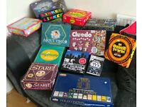 Joblot board games new and old