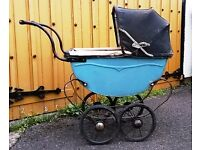 Antique Child's Toy Doll's Pram.