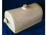 Antique Stoneware Bed Warmer
