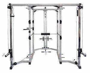 Power Cage + latt Pulldown + Cable Cross over Complete UNIT Malaga Swan Area Preview