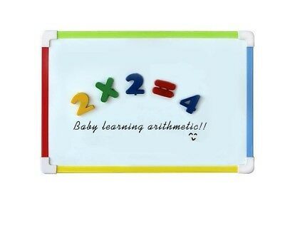 Magnetic Whiteboard For Kids White Dry Erase Drawing Number Magnets Letter Board