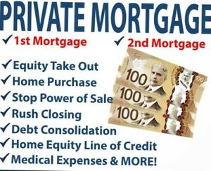 Private Lending, 2nd mortgages, Home Equity Loan (416)726-6383