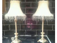 Pair of French Style Lamps