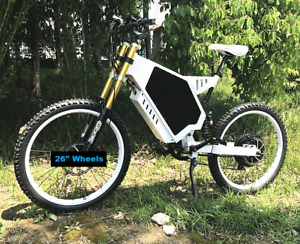 brand new fast 80kmh 5000w FULL SUSPENSION electric bike