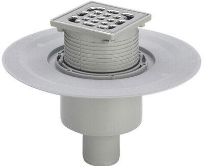 Viega Advantix Badablauf senkrecht DN50 Bodenablauf Flach Duschablauf Dusche