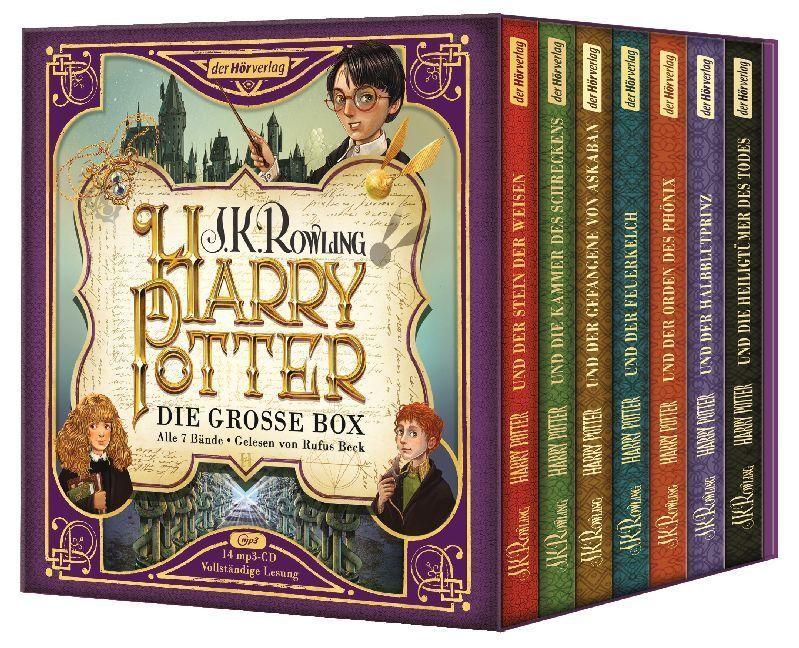 Harry Potter. Die große Box zum Jubiläum. Alle 7 Bände. | 2018 | deutsch | NEU