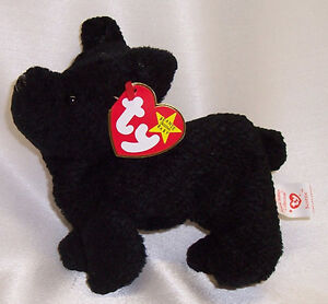 Scottie the Scottish Terrier Ty Beanie Baby stuffed animal