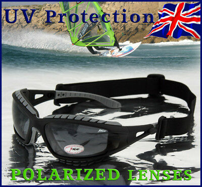 Xtreme 2in1 POLARIZED Goggles Sunglasses for Kayaking, Snow Skiing, Windsurfing