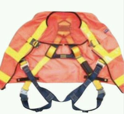 Dbi Sala Safety Harness X-large Delta Full Body Work Vest D621107466 1111581