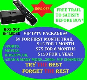 VIP IPTV for MAG BOXES