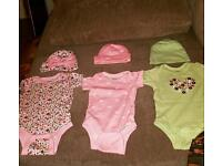 Beautiful high quality American 'Gerber' and next baby onesies.