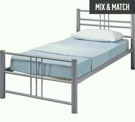 £45 - single metal bed frame - delivery available