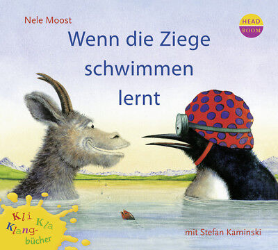 Wenn die Ziege schwimmen lernt, 1 Audio-CD CD Kli-Kla-Klangbücher Kli-Kla-Klang