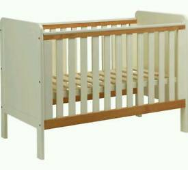 £60 - two tone cot - delivery available