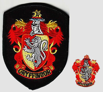 BRITISH HARRY POTTER GRYFFINDO COLLECTIONS HOGWARTS HOUSE OF GRYFFINDOR PATCH