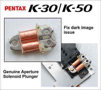 Pentax K-30 K-50 K-S1/S2 K-500 Genuine Aperture Solenoid Plunger Part - Japan -