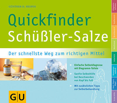 Schüßler-Salze, Quickfinder (GU Quickfinder) Günther H. Heepen