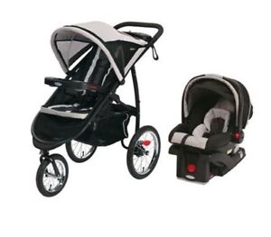 GRACO FAST ACTION FOLD JOGGER TRAVEL SYSTEM