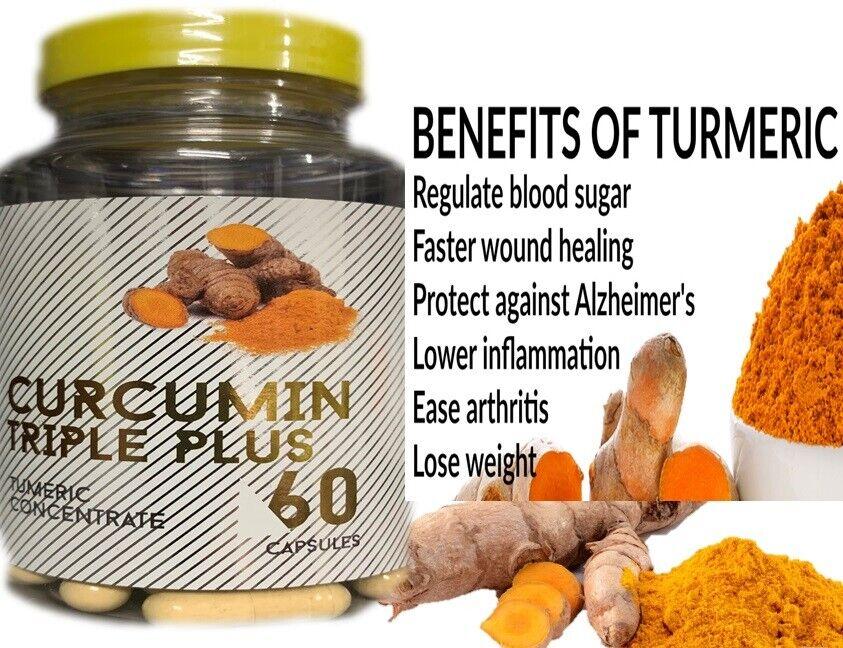Pastillas De Curcuma Para La Inflamación Y El Dolor - Antiinflamatorio Natural 1