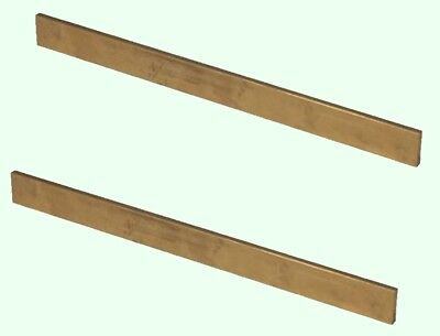 Brass Flat Stock 18 X 12 X 1 2 - 12 Lengths 360 Solid Rectangle Strip