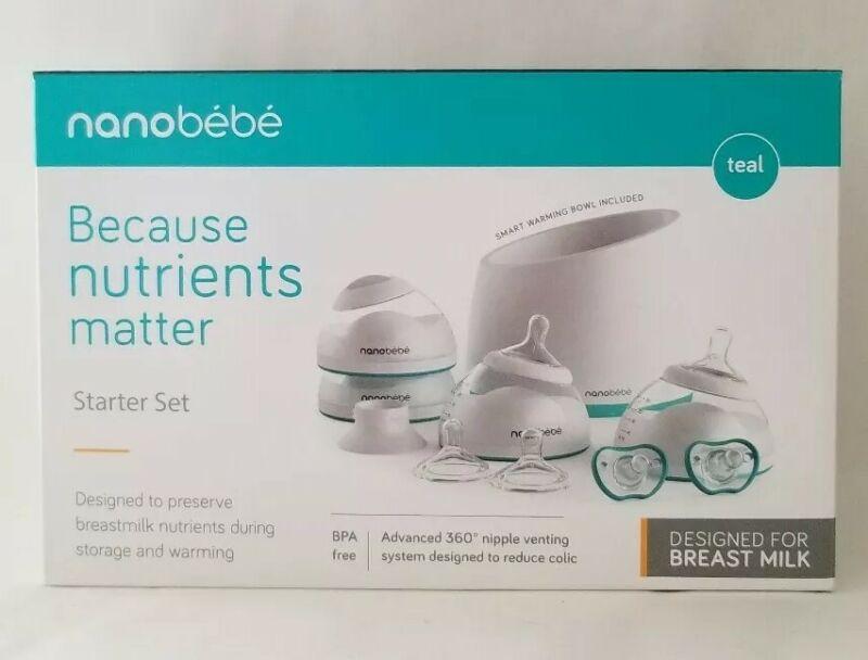 Nanobebe Bottle Newborn Feeding Starter Kit Set Product BPA Free New Sealed Box
