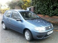 53 reg. Fiat Punto Active 1.2, 31k miles, MOT January