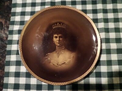 "Queen Mary - 9"" Diameter Portrait Plate by Ridgways - 1911 Coronation"