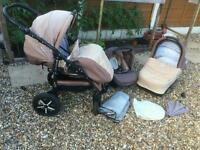 ZIPY QUANTITY Baby Merc buggy