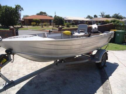 Stessel Edgetracker alloy boat Caboolture Area Preview