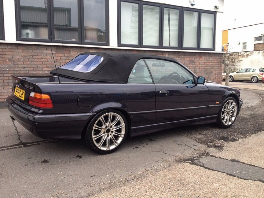 BMW I Convertible E BMW Main Dealer Service Stamps - 1997 bmw 328i convertible