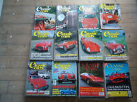 Rare Classic Cars magazines from 1973-1995 - as new