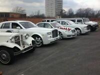 wedding cars hire Bradford/ Rolls Royce hire Bradford/ Vintage cars hire Bradford/ Limos Hire