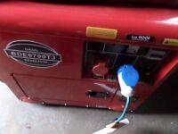 NEILSEN BDE6700T3 6.3kva Three Phase Diesel generator